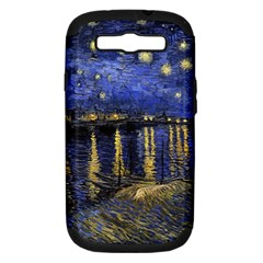 Vincent Van Gogh Starry Night Over The Rhone Samsung Galaxy S Iii Hardshell Case (pc+silicone)