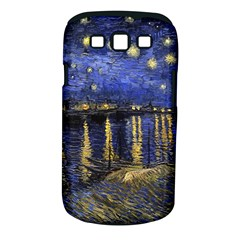 Vincent Van Gogh Starry Night Over The Rhone Samsung Galaxy S III Classic Hardshell Case (PC+Silicone)