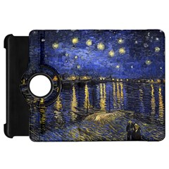 Vincent Van Gogh Starry Night Over The Rhone Kindle Fire HD 7  (1st Gen) Flip 360 Case