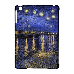 Vincent Van Gogh Starry Night Over The Rhone Apple iPad Mini Hardshell Case (Compatible with Smart Cover)