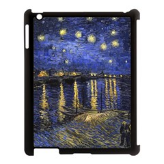 Vincent Van Gogh Starry Night Over The Rhone Apple iPad 3/4 Case (Black)
