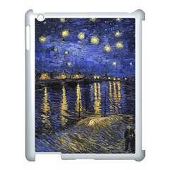 Vincent Van Gogh Starry Night Over The Rhone Apple iPad 3/4 Case (White)