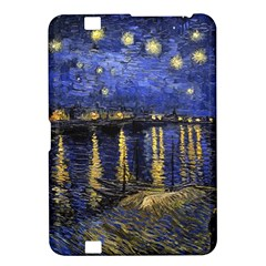 Vincent Van Gogh Starry Night Over The Rhone Kindle Fire Hd 8 9  Hardshell Case