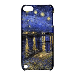 Vincent Van Gogh Starry Night Over The Rhone Apple iPod Touch 5 Hardshell Case with Stand