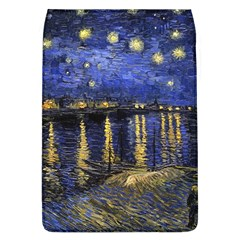 Vincent Van Gogh Starry Night Over The Rhone Removable Flap Cover (large)