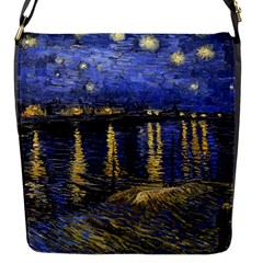 Vincent Van Gogh Starry Night Over The Rhone Removable Flap Cover (Small)