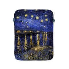 Vincent Van Gogh Starry Night Over The Rhone Apple iPad Protective Sleeve