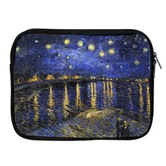 Vincent Van Gogh Starry Night Over The Rhone Apple Ipad Zippered Sleeve