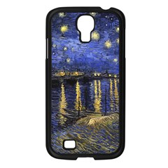 Vincent Van Gogh Starry Night Over The Rhone Samsung Galaxy S4 I9500/ I9505 Case (Black)