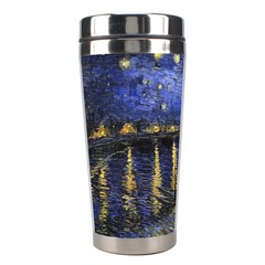 Vincent Van Gogh Starry Night Over The Rhone Stainless Steel Travel Tumbler