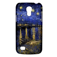 Vincent Van Gogh Starry Night Over The Rhone Samsung Galaxy S4 Mini (GT-I9190) Hardshell Case