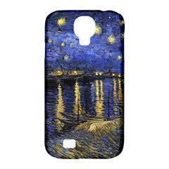 Vincent Van Gogh Starry Night Over The Rhone Samsung Galaxy S4 Classic Hardshell Case (PC+Silicone)