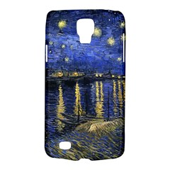 Vincent Van Gogh Starry Night Over The Rhone Samsung Galaxy S4 Active (i9295) Hardshell Case