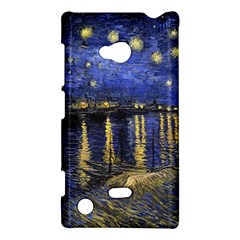Vincent Van Gogh Starry Night Over The Rhone Nokia Lumia 720 Hardshell Case