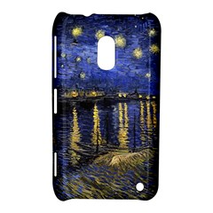 Vincent Van Gogh Starry Night Over The Rhone Nokia Lumia 620 Hardshell Case