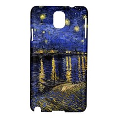 Vincent Van Gogh Starry Night Over The Rhone Samsung Galaxy Note 3 N9005 Hardshell Case