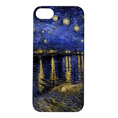 Vincent Van Gogh Starry Night Over The Rhone Apple Iphone 5s Hardshell Case