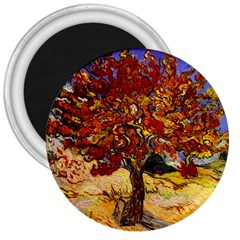 Vincent Van Gogh Mulberry Tree 3  Button Magnet