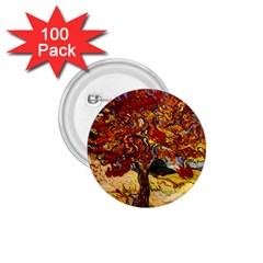 Vincent Van Gogh Mulberry Tree 1.75  Button (100 pack)