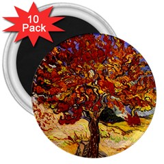 Vincent Van Gogh Mulberry Tree 3  Button Magnet (10 pack)