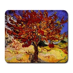 Vincent Van Gogh Mulberry Tree Large Mouse Pad (Rectangle)
