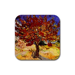 Vincent Van Gogh Mulberry Tree Drink Coaster (Square)