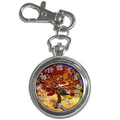 Vincent Van Gogh Mulberry Tree Key Chain & Watch