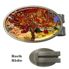 Vincent Van Gogh Mulberry Tree Money Clip (oval)