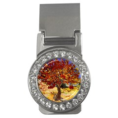 Vincent Van Gogh Mulberry Tree Money Clip (CZ)