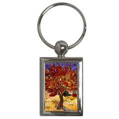 Vincent Van Gogh Mulberry Tree Key Chain (Rectangle)