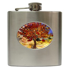 Vincent Van Gogh Mulberry Tree Hip Flask