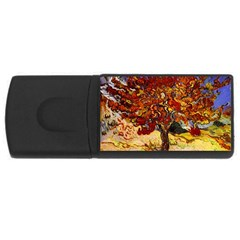 Vincent Van Gogh Mulberry Tree 1GB USB Flash Drive (Rectangle)