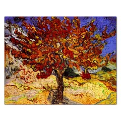 Vincent Van Gogh Mulberry Tree Jigsaw Puzzle (rectangle)