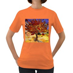 Vincent Van Gogh Mulberry Tree Womens' T-shirt (Colored)