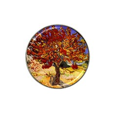 Vincent Van Gogh Mulberry Tree Golf Ball Marker 4 Pack (for Hat Clip)