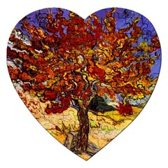 Vincent Van Gogh Mulberry Tree Jigsaw Puzzle (heart)