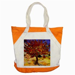 Vincent Van Gogh Mulberry Tree Accent Tote Bag