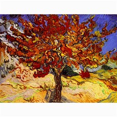 Vincent Van Gogh Mulberry Tree Canvas 12  x 16  (Unframed)