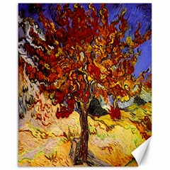 Vincent Van Gogh Mulberry Tree Canvas 16  X 20  (unframed)