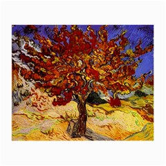 Vincent Van Gogh Mulberry Tree Glasses Cloth (small, Two Sided)