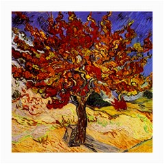 Vincent Van Gogh Mulberry Tree Glasses Cloth (medium, Two Sided)