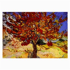 Vincent Van Gogh Mulberry Tree Glasses Cloth (Large, Two Sided)