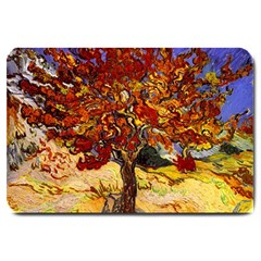 Vincent Van Gogh Mulberry Tree Large Door Mat