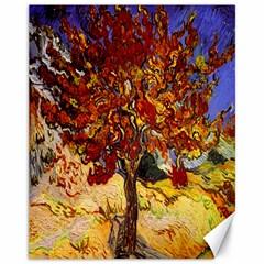 Vincent Van Gogh Mulberry Tree Canvas 11  X 14  (unframed)