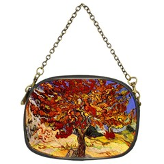 Vincent Van Gogh Mulberry Tree Chain Purse (two Sided)