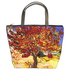 Vincent Van Gogh Mulberry Tree Bucket Handbag
