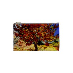 Vincent Van Gogh Mulberry Tree Cosmetic Bag (small)