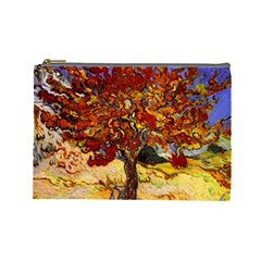 Vincent Van Gogh Mulberry Tree Cosmetic Bag (Large)