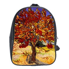 Vincent Van Gogh Mulberry Tree School Bag (large)