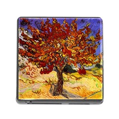 Vincent Van Gogh Mulberry Tree Memory Card Reader with Storage (Square)